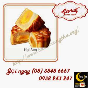 Bánh trung thu Givral Hạt Sen